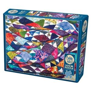 "Cobble Hill (85079) - Helen Klebesadel: ""Portrait of a Quilt"" - 500 piezas"