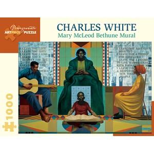 """Pomegranate (aa1054) - Charles White: """"Mary McLeod Bethune, 1978"""" - 1000 piezas"""