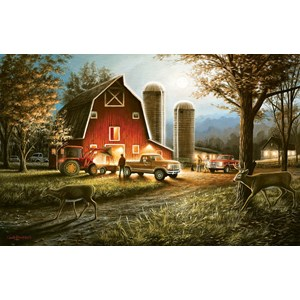 "SunsOut (55193) - Chuck Black: ""Harvest Nights"" - 550 piezas"