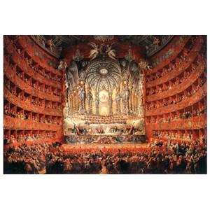 """Impronte Edizioni (252) - Giovanni Paolo Panini: """"Musical feast given by the cardinal de La Rochefoucauld"""" - 1000 piezas"""