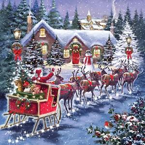 """Otter House Puzzle (74142) - """"Santa's Sleigh"""" - 1000 piezas"""