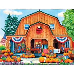 "SunsOut (32710) - Thelma Winter: ""Weiss Farm Pumpkins"" - 500 piezas"