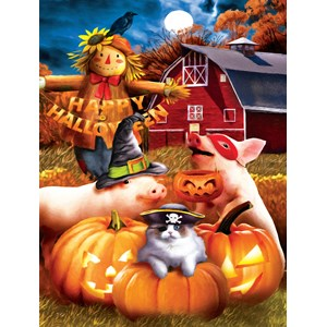 "SunsOut (28737) - Tom Wood: ""Happy Halloween"" - 500 piezas"