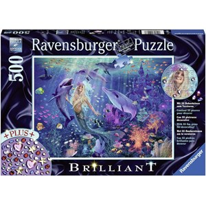 "Ravensburger (14993) - ""Enchanting Mermaid"" - 500 piezas"