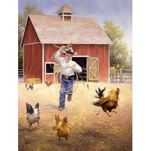 "SunsOut (16887) - Jack Sorenson: ""Fowl Play"" - 500 piezas"