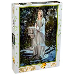 "Gold Puzzle (61642) - ""Queen of Elves"" - 1500 piezas"