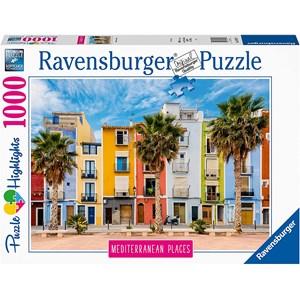 """Ravensburger (14977) - """"Alicante, Villajoyosa"""" - 1000 piezas"""