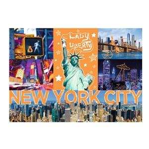 "Trefl (10579) - ""New-York Neon City"" - 1000 piezas"