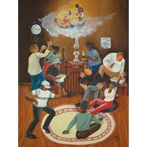 "SunsOut (46829) - Annie Lee: ""The Brown Bomber"" - 500 piezas"