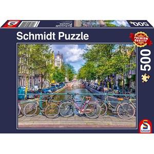 """Schmidt Spiele (58942) - """"Amsterdam"""" - 500 piezas"""