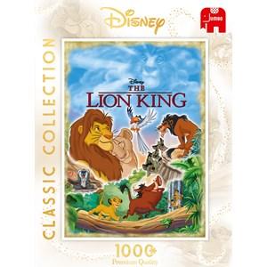 """Jumbo (18823) - """"The Lion King Movie Poster"""" - 1000 piezas"""