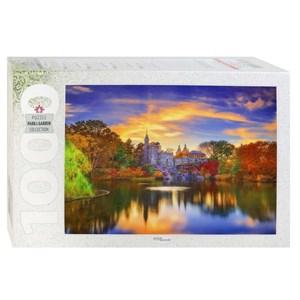 """Step Puzzle (79138) - """"Belvedere Castle, Central Park, Manhattan"""" - 1000 piezas"""