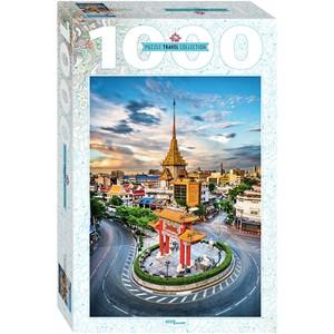 "Step Puzzle (79148) - ""Chinatown in Bangkok, Thailand"" - 1000 piezas"