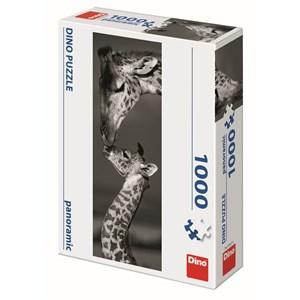 """Dino (54537) - """"Giraffes"""" - 1000 piezas"""