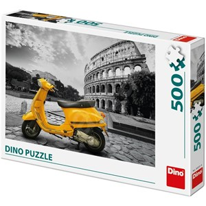 """Dino (50231) - """"Scooter at the Colosseum"""" - 500 piezas"""