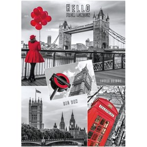 """Dino (53250) - """"Hello from London"""" - 1000 piezas"""