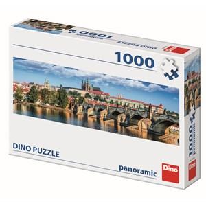 "Dino (54538) - ""Prague, Czech Republic"" - 1000 piezas"