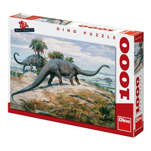 """Dino (53202) - """"Dinosaurs"""" - 1000 piezas"""