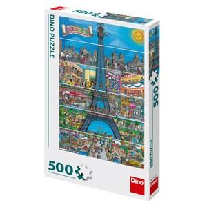 """Dino (50237) - """"Paris, France"""" - 500 piezas"""