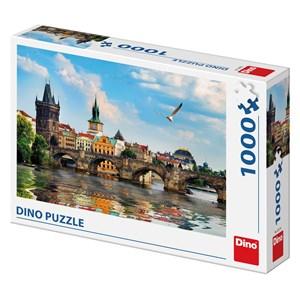 """Dino (53273) - """"Charles Bridge Prague"""" - 1000 piezas"""