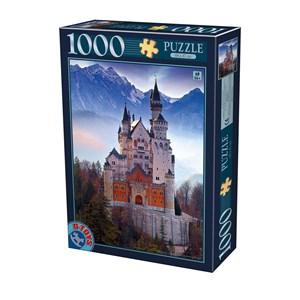 """D-Toys (75963) - """"Neuschwanstein"""" - 1000 piezas"""