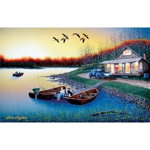 """SunsOut (60370) - Don Engler: """"Jack's Place"""" - 550 piezas"""
