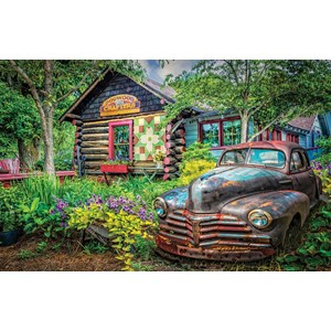"SunsOut (37316) - Celebrate Life Gallery: ""Part of the Garden"" - 550 piezas"