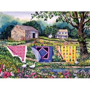 """SunsOut (14610) - Diane Phalen: """"Summer Breeze"""" - 1000 piezas"""