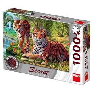 """Dino (53262) - """"Tigers"""" - 1000 piezas"""