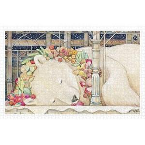 "Pintoo (h2150) - Cotton Lion: ""Goodnight Polar Bear"" - 1000 piezas"