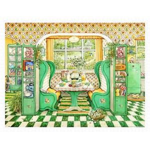 """Pintoo (h2002) - Janet Kruskamp: """"Breakfast Nook"""" - 1200 piezas"""