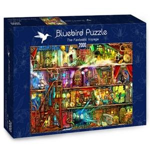 "Bluebird Puzzle (70161) - Aimee Stewart: ""The Fantastic Voyage"" - 2000 piezas"