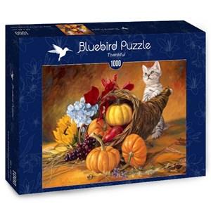 "Bluebird Puzzle (70069) - Lucie Bilodeau: ""Thankful"" - 1000 piezas"