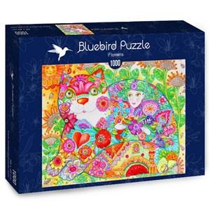"Bluebird Puzzle (70415) - Oxana Zaika: ""Flowers"" - 1000 piezas"
