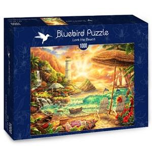 "Bluebird Puzzle (70417) - Chuck Pinson: ""Love the Beach"" - 1000 piezas"