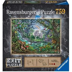 "Ravensburger (15030) - ""EXIT Unicorn (in German)"" - 759 piezas"
