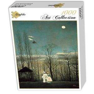 "Grafika (00500) - Henri Rousseau: ""Carnival Evening, 1886"" - 1000 piezas"