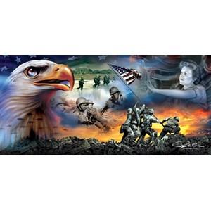 "SunsOut (69046) - Ray Simon: ""War Eagle"" - 1000 piezas"