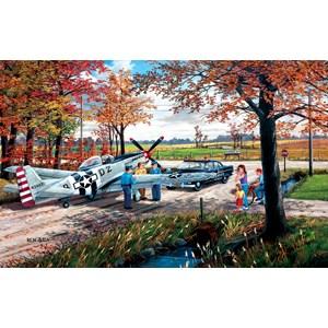 "SunsOut (39336) - Ken Zylla: ""Emergency Landing"" - 550 piezas"