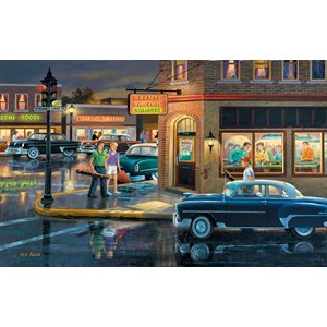 "SunsOut (37767) - Ken Zylla: ""Small Town Saturday Night"" - 550 piezas"
