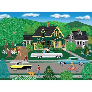 "SunsOut (22636) - Mark Frost: ""Nellie's New Car"" - 1000 piezas"