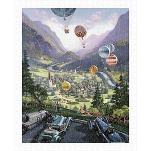 "Pintoo (h1644) - Michael Young: ""Up Up and Away"" - 500 piezas"