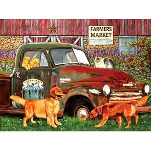 """SunsOut (67282) - Julie Bauknecht: """"Woody Acres"""" - 1000 piezas"""