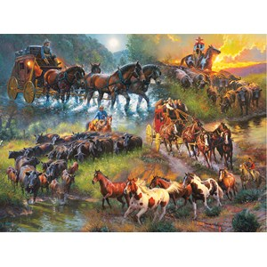 "SunsOut (52948) - Mark Keathley: ""Wagon Trails"" - 1000 piezas"