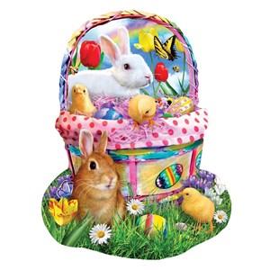 "SunsOut (97124) - Lori Schory: ""Bunny's Easter Basket"" - 1000 piezas"