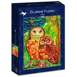 "Bluebird Puzzle (70414) - Oxana Zaika: ""Owls"" - 1000 piezas"