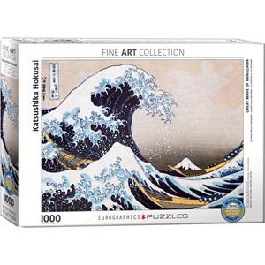 "Eurographics (6000-1545) - Hokusai: ""Great Wave of Kanagawa"" - 1000 piezas"