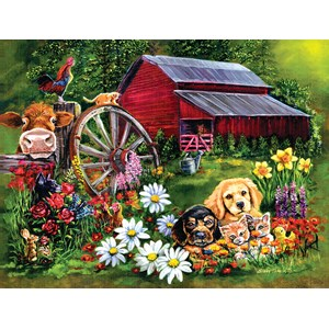 """SunsOut (60410) - Eileen Herb-Witte: """"Sweet Country"""" - 500 piezas"""