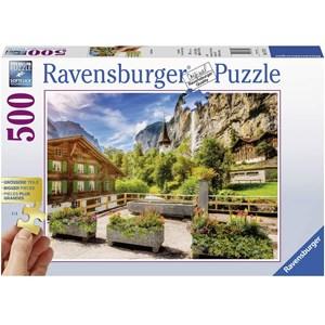 "Ravensburger (13712) - ""Lauterbrunnen"" - 500 piezas"