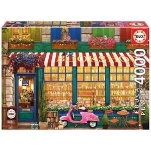 "Educa (18582) - ""Vintage Bookshop"" - 4000 piezas"